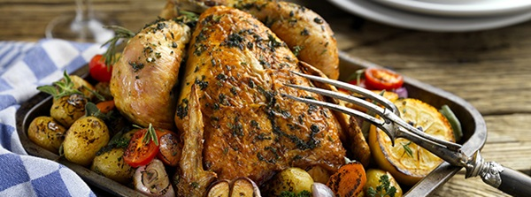 recipe image Roast Chicken with Bertolli Spread