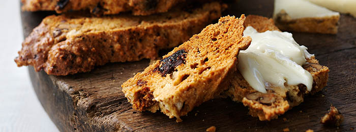recipe image Fig & Walnut Biscotti