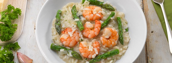 recipe image Prawn and Asparagus Risotto
