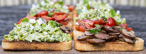 recipe image Mob Kitchen's Bruschetta 3 ways