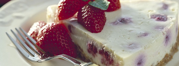recipe image Red Berry Cheesecake