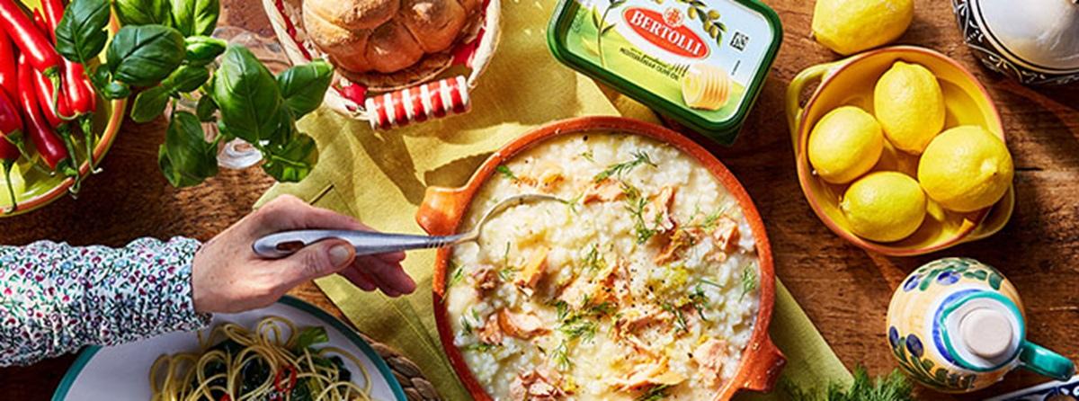 recipe image Salmon, Dill & Lemon Risotto