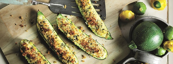recipe image Italian-style Stuffed Courgettes Recipe