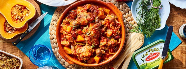 recipe image Chicken & Squash Cacciatore
